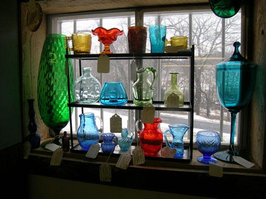 Glass Mall glassware