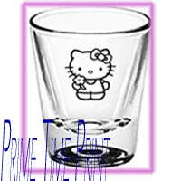 Hello Kitty new glassware shotglass images and glass pictures