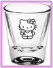 Hello Kitty shotglasses from hellokittyshotglasses.com