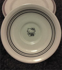 Hello Kitty plate image